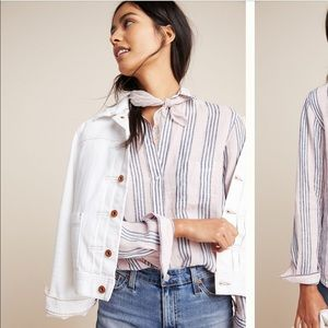 Boyfriend fit blouse from Anthropologie
